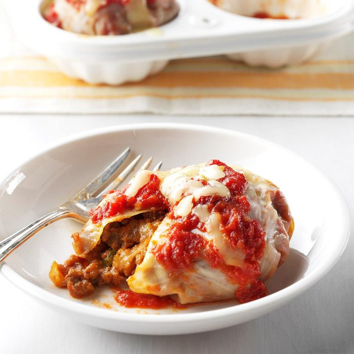 Chorizo & Chipotle Stuffed Cabbage Cups