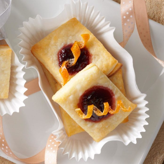 Christmas Cherry Citrus Pastries