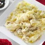 Chunky Garlic Mashed Potatoes