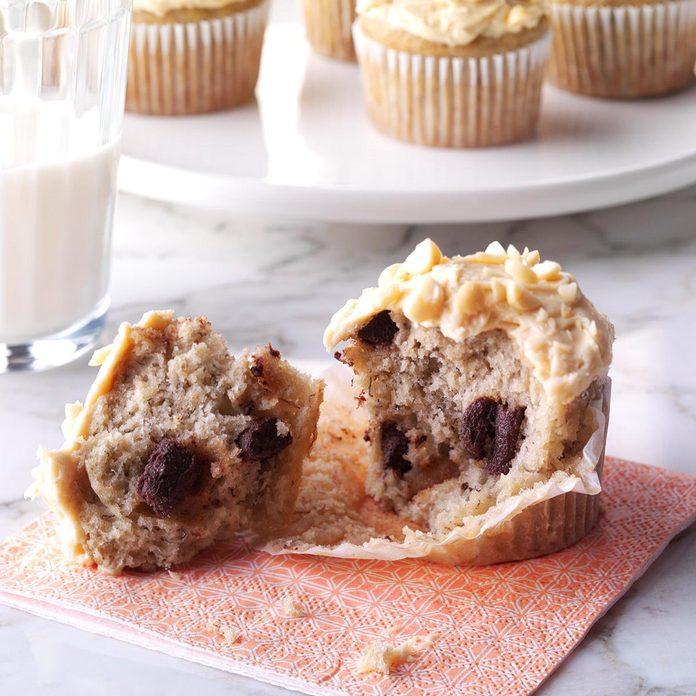Chunky Monkey Cupcakes
