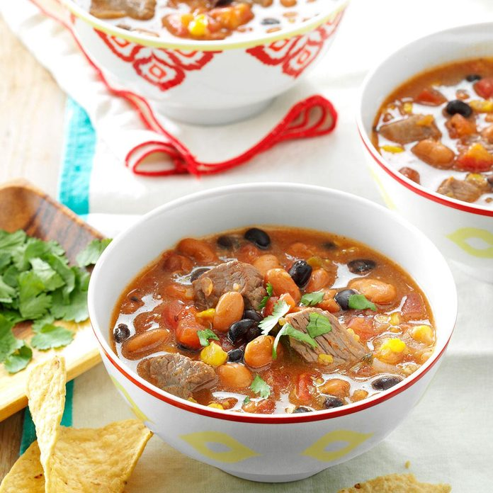 Inspired by: Southwest Steak & Black Bean Soup from Applebee's