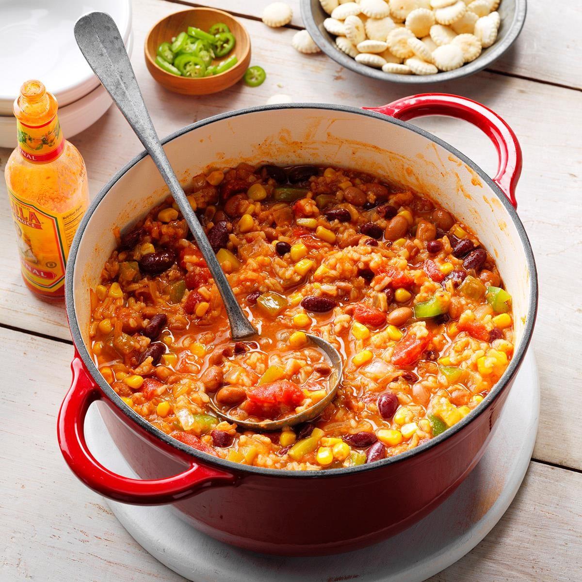 Chunky Vegetarian Chili Recipe