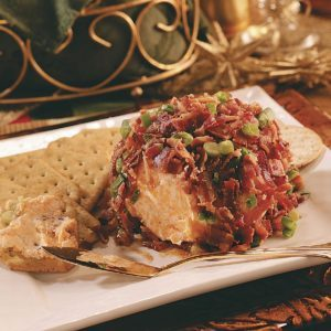 Chutney-Bacon Cheese Ball