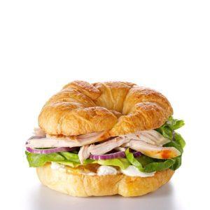 Chutney Chicken Croissants