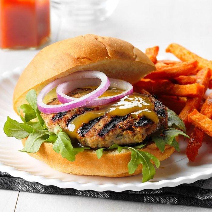 March 7: Chutney Turkey Burger