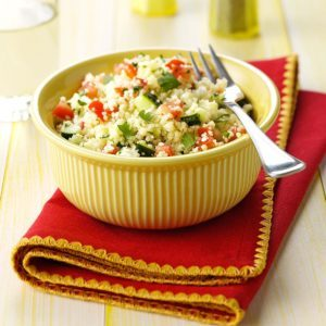 Cilantro Couscous Salad