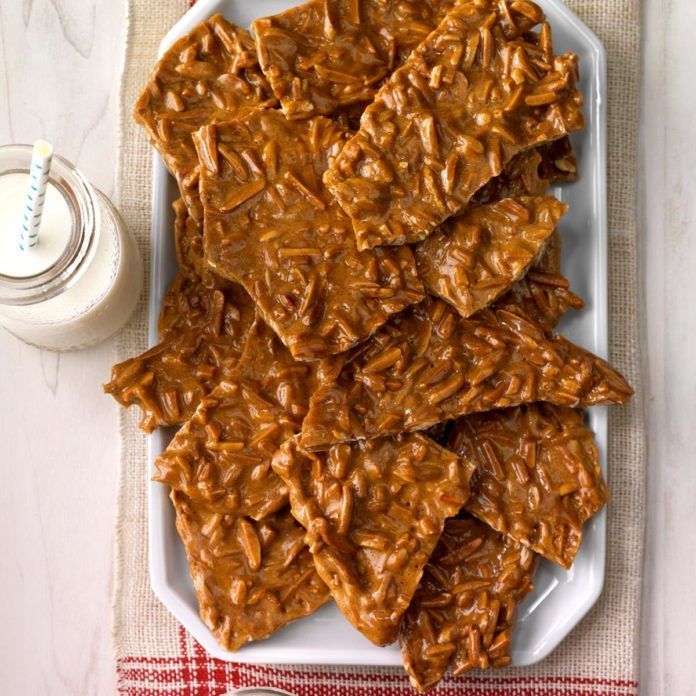 Cinnamon Almond Brittle