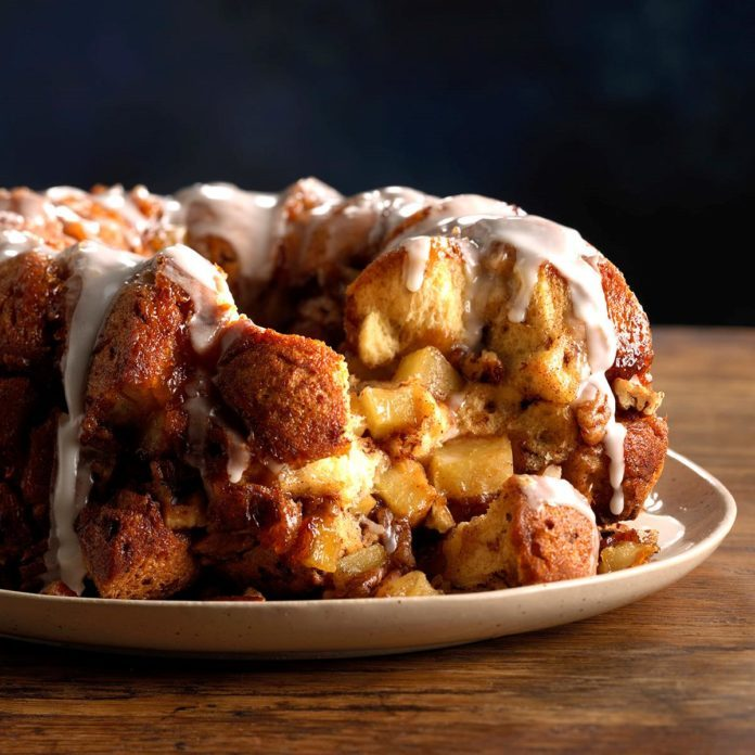 Cinnamon Apple Cider Monkey Bread