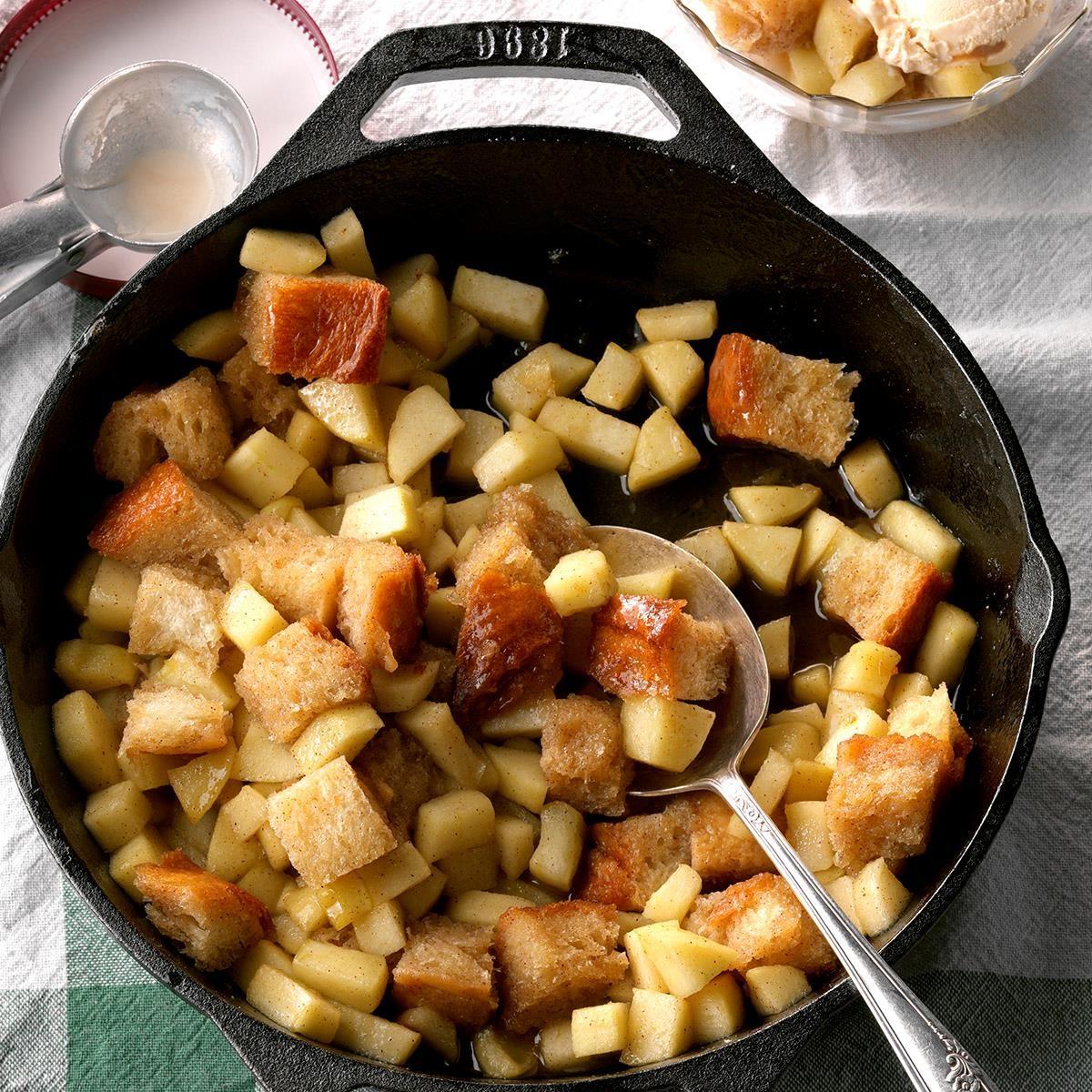 Cinnamon Apple Pan Betty