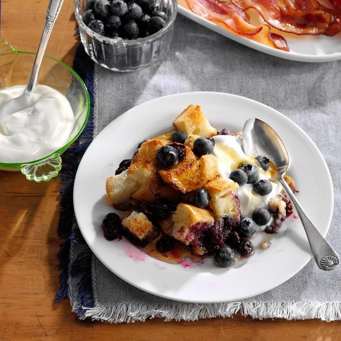 Cinnamon Blueberry French Toast