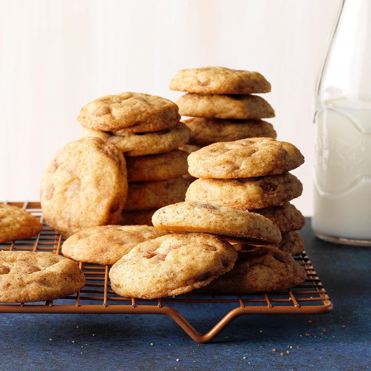 Cinnamon Chip Chai-Spiced Snickerdoodles