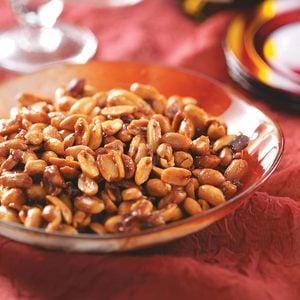 Cinnamon-Glazed Peanuts