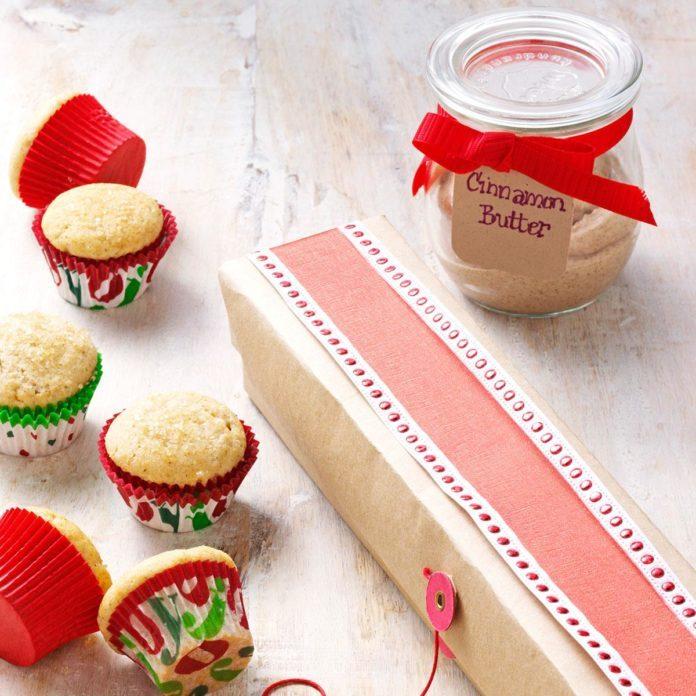 Cinnamon Mini Muffins and Cinnamon Butter