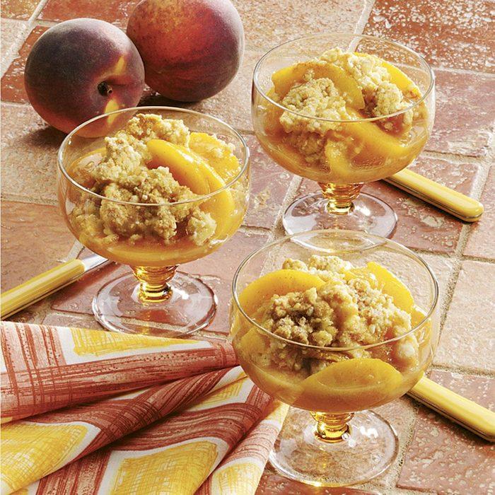 Cinnamon Peach Crisp