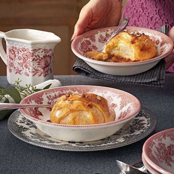 Cinnamon-Pecan Apple Dumplings