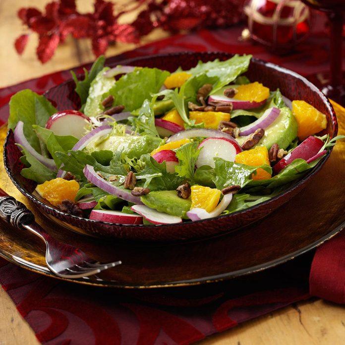 Citrus, Avocado & Radish Salad