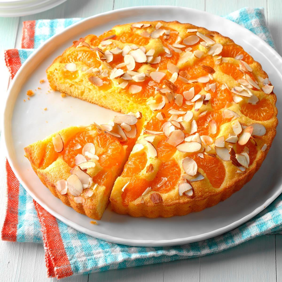 Citrus Cornmeal Cake