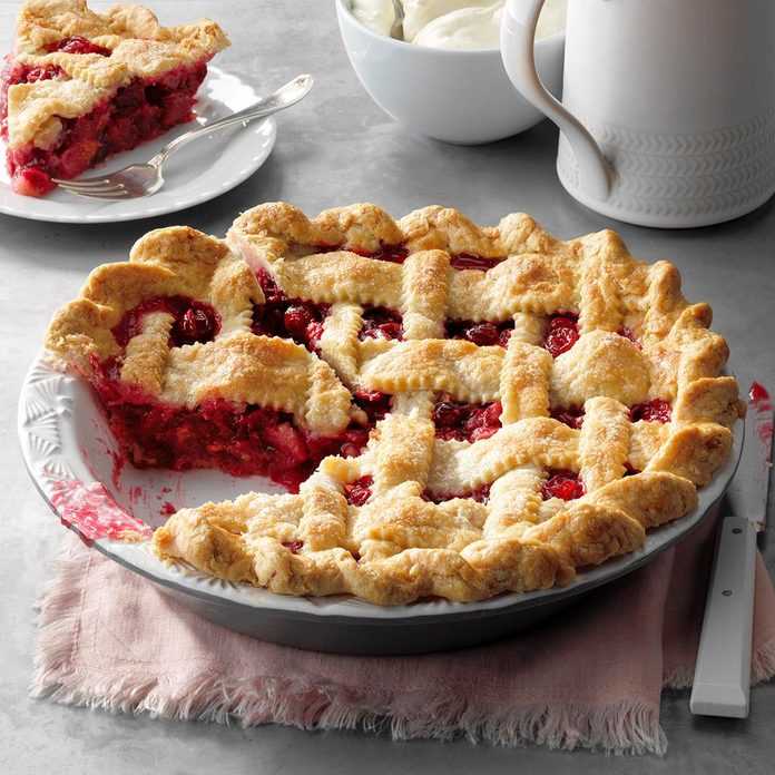 Wisconsin: Cranberry Pie