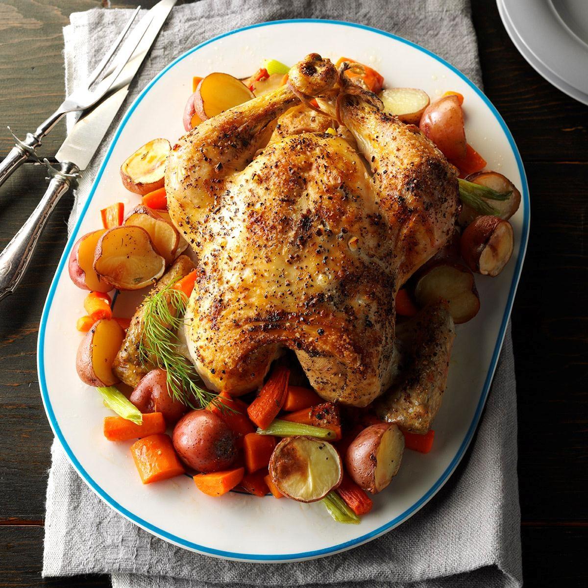 Citrus-Herb Roast Chicken