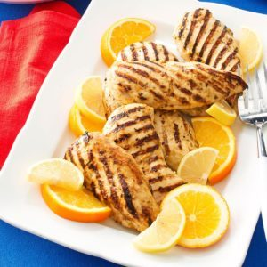 Citrus-Marinated Chicken