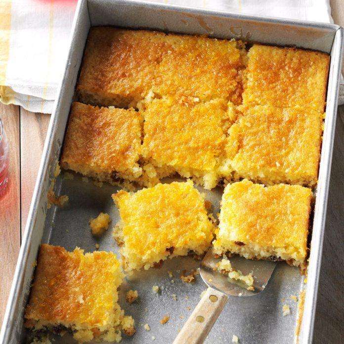 Citrus Poke Cake