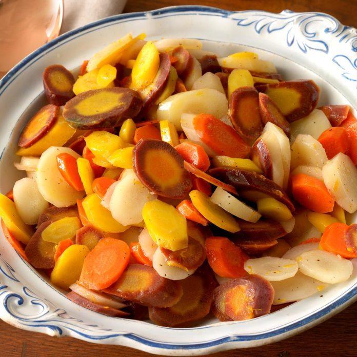 Citrus Rainbow Carrots