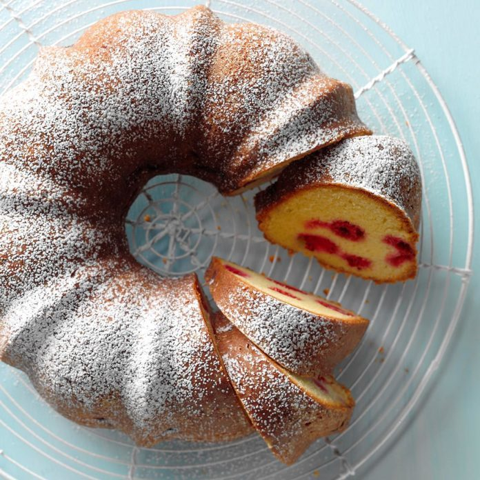 Idaho: Citrus-Raspberry Coffee Cake