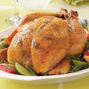 Citrus-Rosemary Roasted Chicken