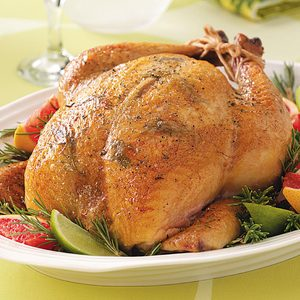 Citrus-Rosemary Roasted Chicken