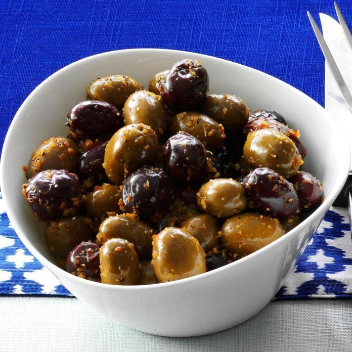 Citrus Spiced Olives