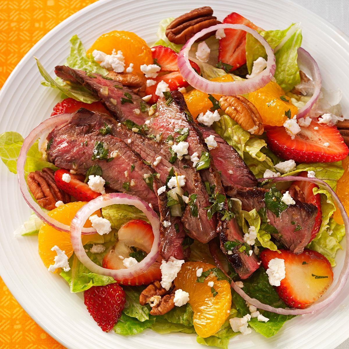 Citrus Steak Salad