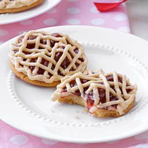 Classic Cherry Pie Cookies