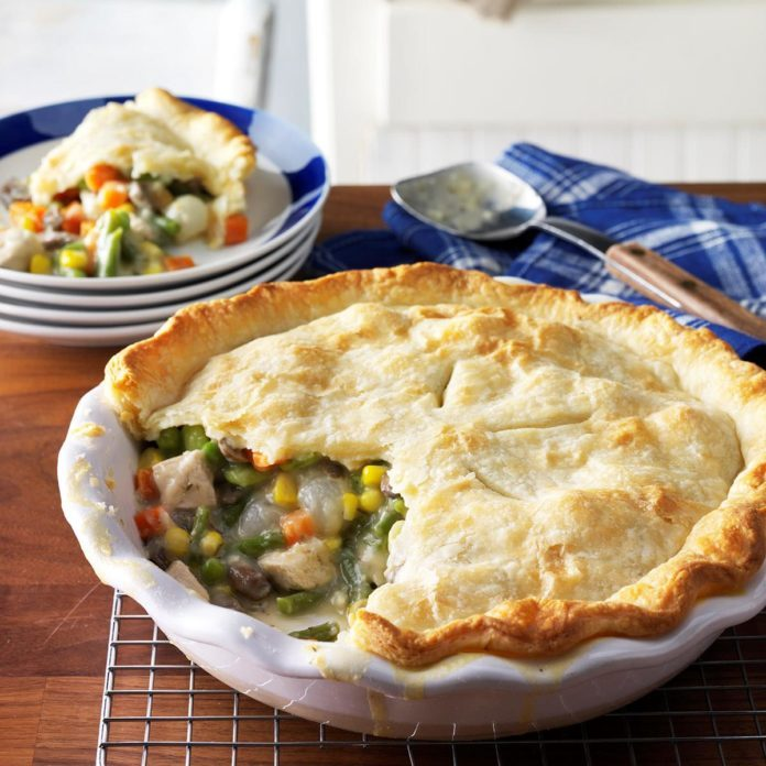 Classic Chicken Potpie Recipe | Taste