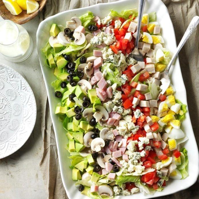 Day 4: Classic Cobb Salad