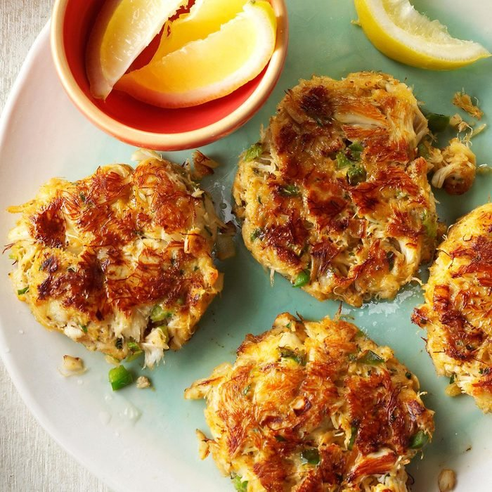 Inspired by Morton's Crab Cakes