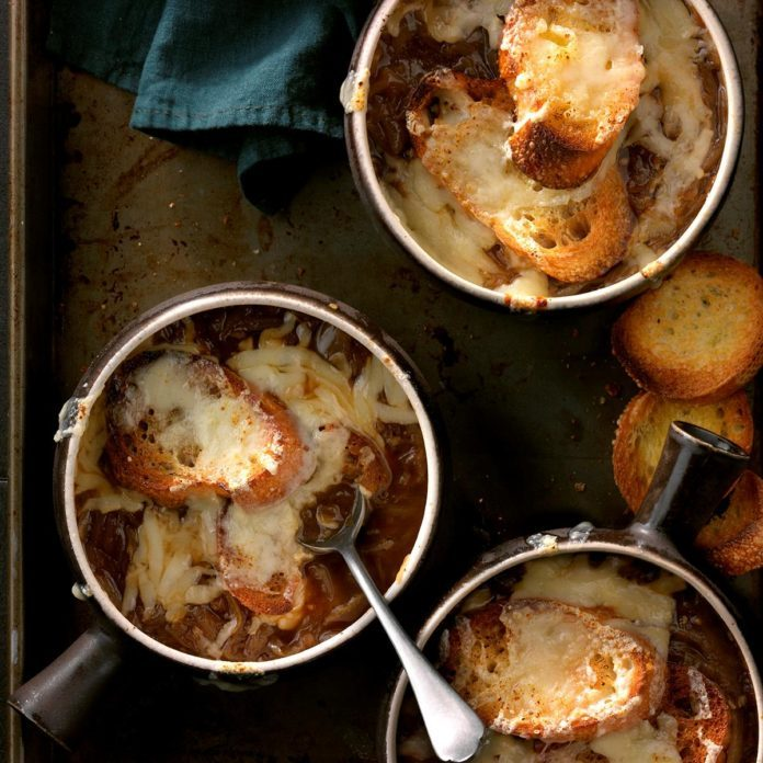 F: French Onion Soup