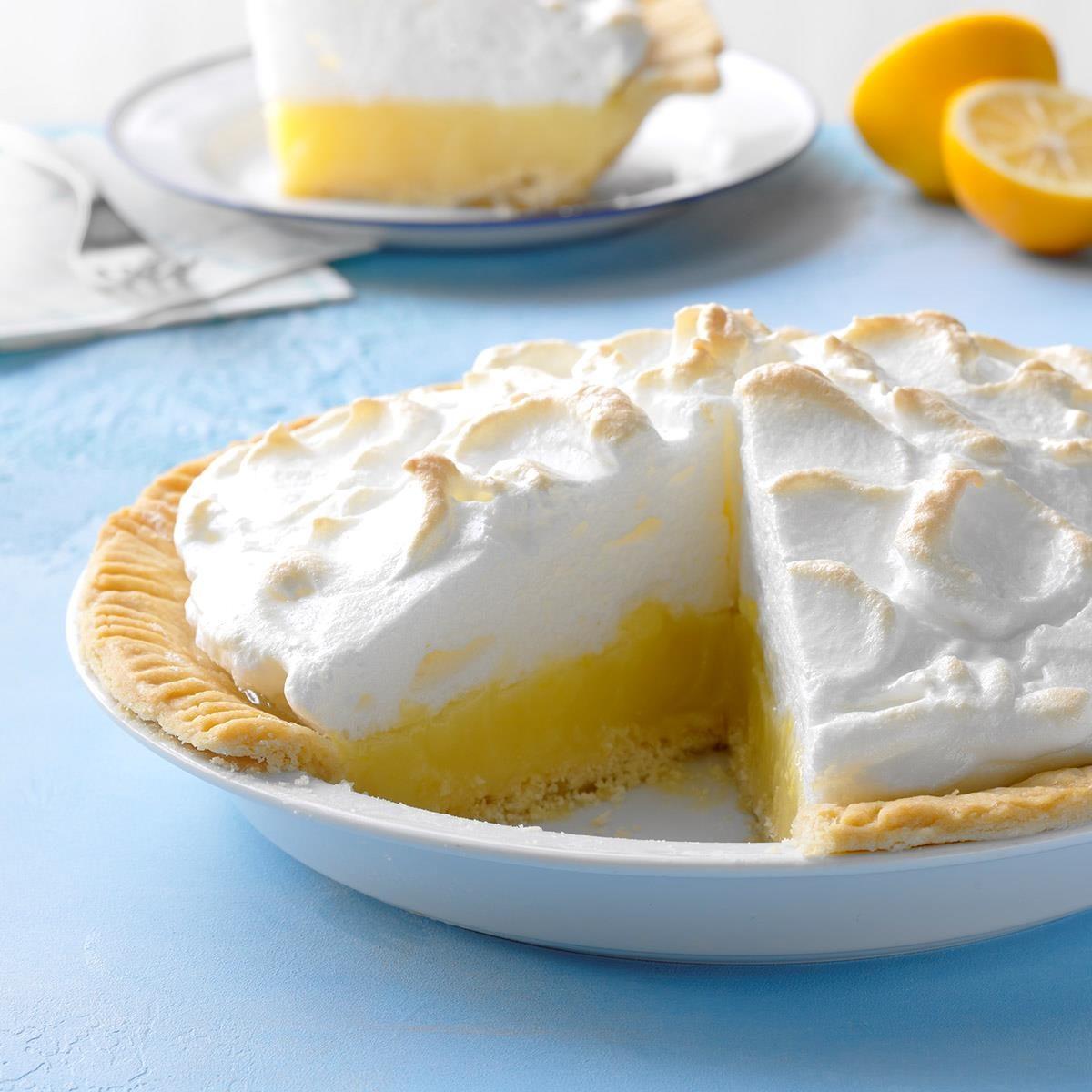 Classic Lemon Meringue Pie Recipe Taste Of Home