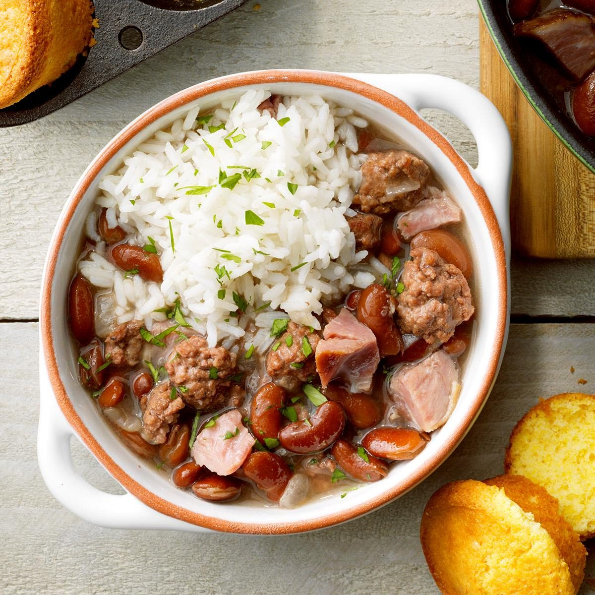 Classic Red Beans N Rice