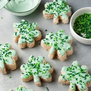 Our Luckiest Shamrock-Shaped Recipes