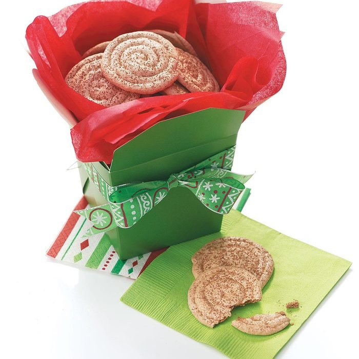 Cocoa-Almond Meringue Cookies