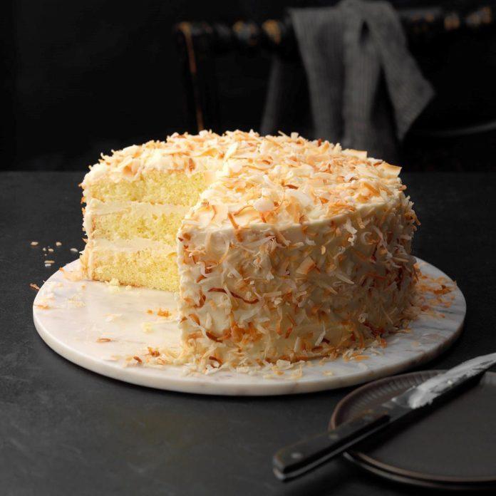 Coconut Chiffon Cake