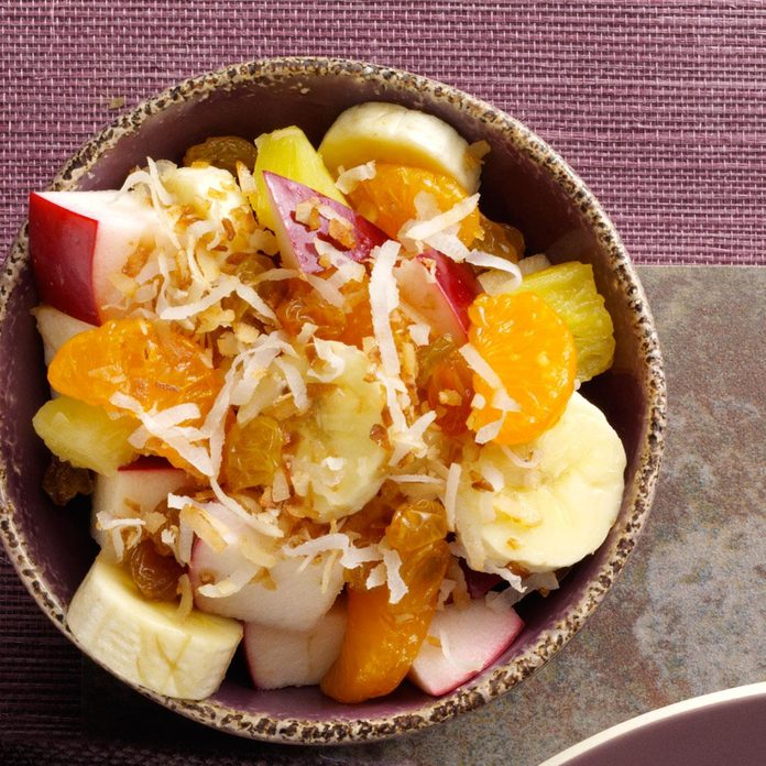 Coconut Fruit Salad