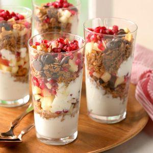 Coconut-Granola Yogurt Parfaits