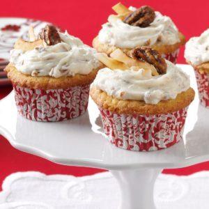 Coconut Pecan Cupcakes