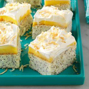 Coconut Poppy Seed Cake