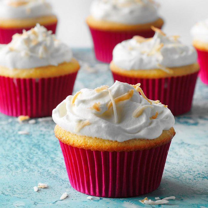 Coconut Tres Leches Cupcakes