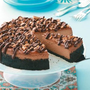 Coffee Toffee Cheesecake