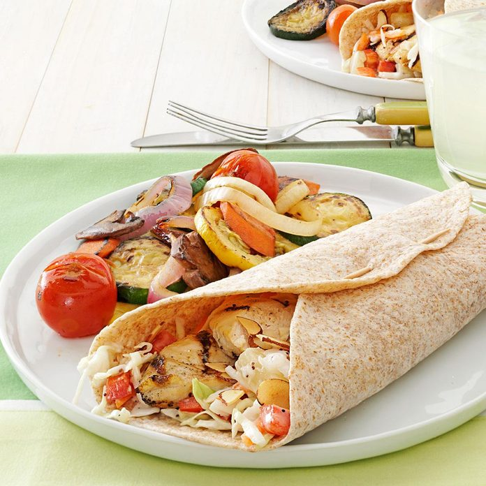 Inspired By: Grilled Chicken Cool Wrap