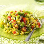 Colorful Corn Salad