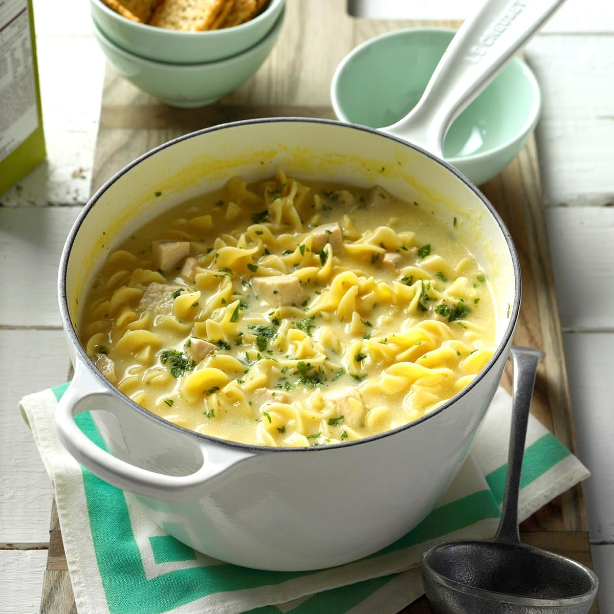 Utah: Comforting Chicken Noodle Soup